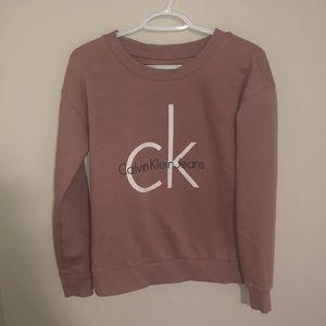 Mauve Calvin Klein Sweater